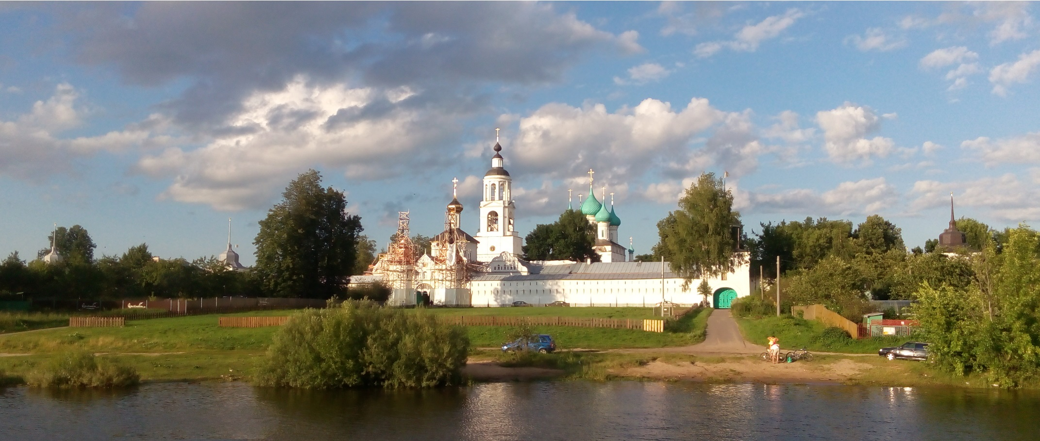 Tolga monastery, a view from Volga river